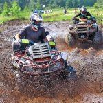Echipamente corespunzatoare pentru off-road cu un ATV