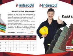 Linda Ecotil Tabla Tip Tigla