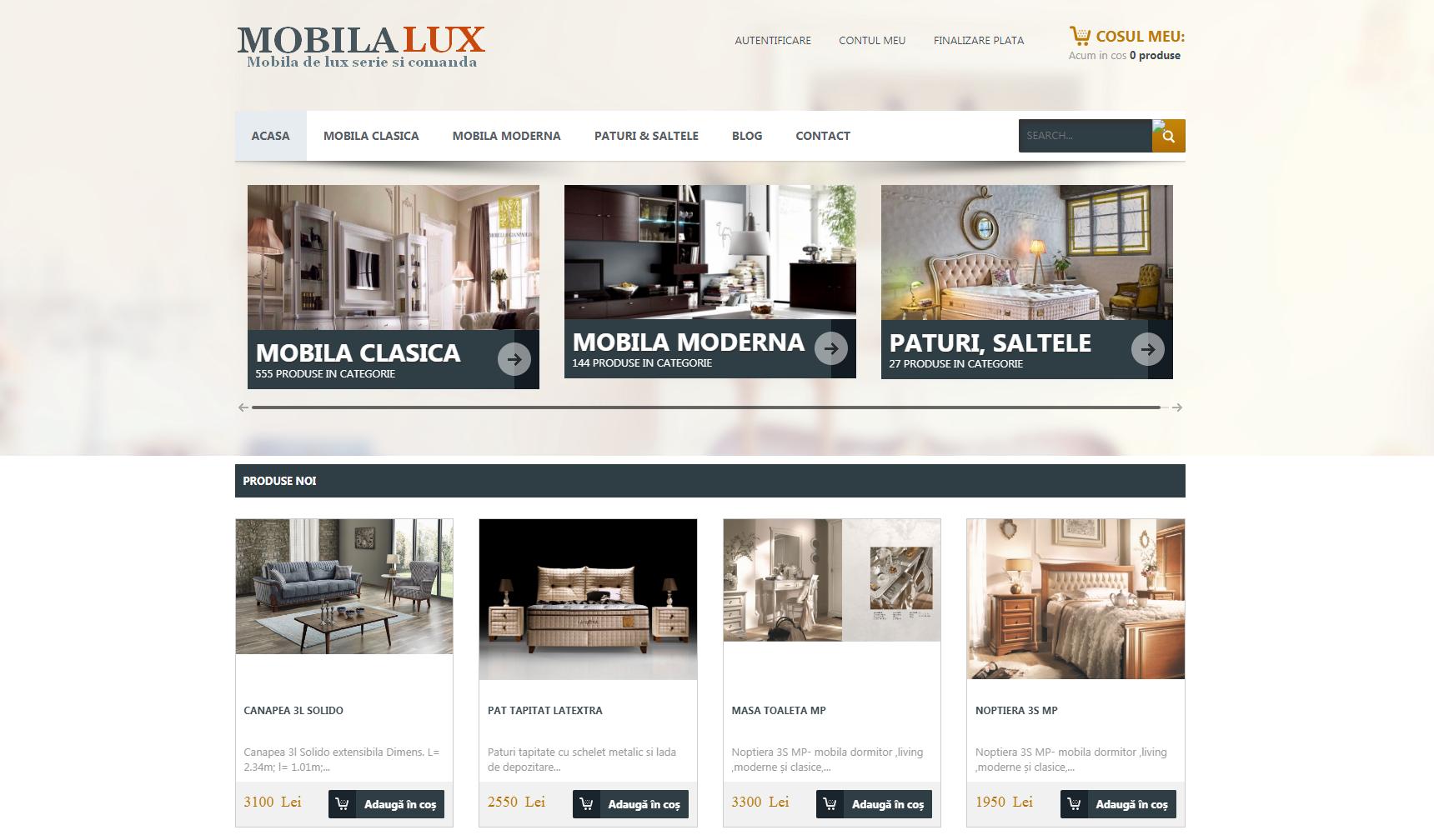 mobila de lux online